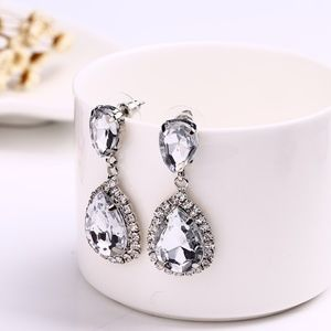Jewelry - Rhinestone drop earrings, party earrings, formal